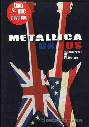 Metallica - Uk / Us (2 Dvd)