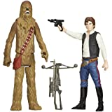 Star Wars Mission Series - Han Solo and Chewbacca Figures