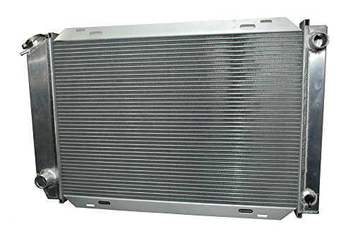 VXMOTOR FULL ALUMINUM 3 ROW RACING RADIATOR - 79-93 FORD MUSTANG V8/V6 LX/GT/COBRA (MANUAL TRANSMISSION) (1993 Ford Mustang Cobra compare prices)