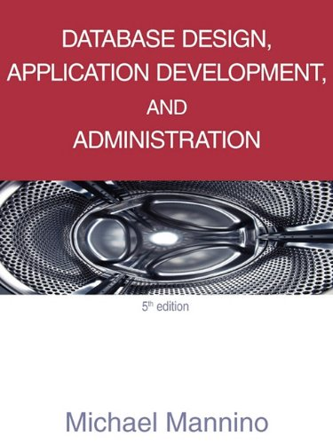 Database Design, Application Development, and...