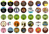 Crazy Cups Travel the World Sampler, Single-cup coffee for Keurig K-Cup Brewers(Pack of 35)