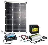 revolt-Solarpanel-50-W-mit-Blei-Akku-Laderegler-Wechselrichter