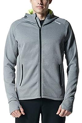 Tesla Men's Performance Long sleeve Training Full-zip Hoodie Jacket K24