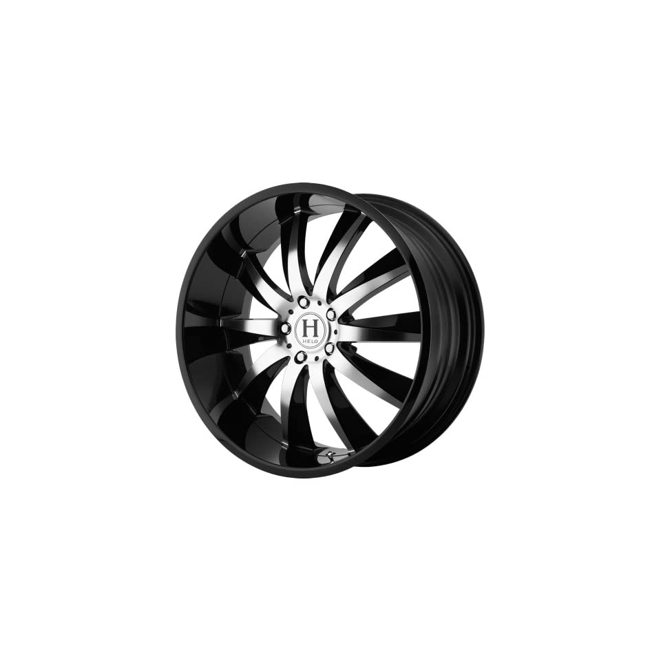 Helo HE851 Gloss Black Wheel with Machined Face (20x10/5x4.5)