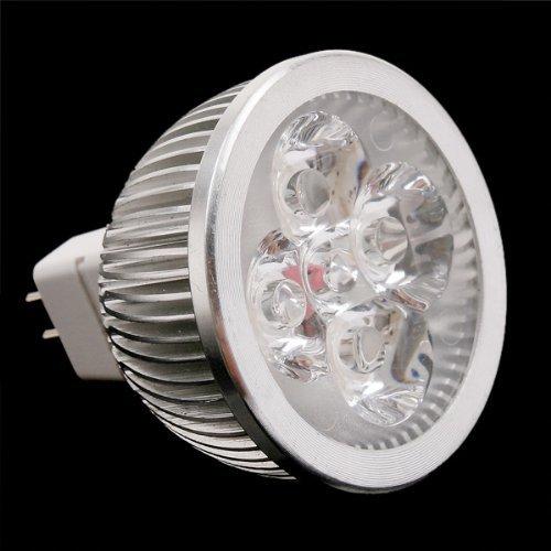 Good Market 1Pcs 4 * 1W Gu5.3 Mr16 12V Warm White Led Light Lamp Bulb Spotlight