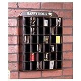 Shot Glass Display Shelves - Happy Hour, Wall Decor, Shelf, Shelves, Case, Cases, Racks, Holder, Gifts