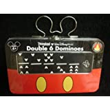 DISNEY PARKS EXCLUSIVE : Double 6 Dominoes