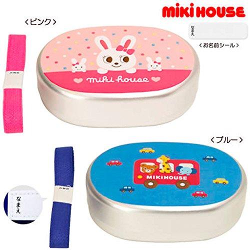 (ミキハウス)MIKIHOUSE プッチー&うさこ アルミランチケース(お弁当箱) (ピンク)