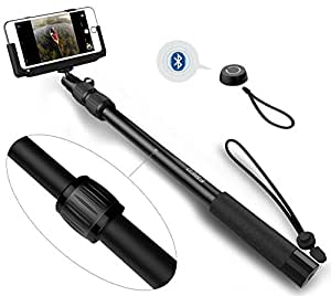 selfie stick frieq pro 3 in 1 self portrait monopod extendable wireless bluetooth. Black Bedroom Furniture Sets. Home Design Ideas