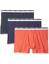 Gildan Men's 3-pack Trunk Brief-Big Sizes
