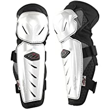 Troy Lee Designs Lopes Signature Knee Guard White, M/L