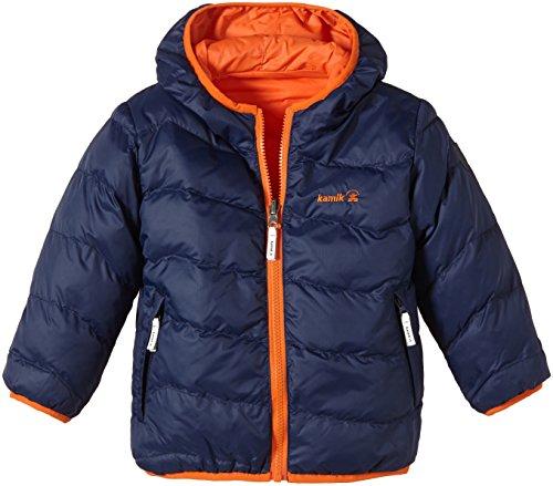 Kamik giacca sportiva giacca reversibile Blender Reversible, Ragazzo, Wendejacke Blender Reversible, Blu - Navy Blue, 12