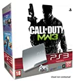 echange, troc Console PS3 320 Go argent + Manette PS3 Dual Shock 3 - argent + Call of Duty Modern Warfare 3