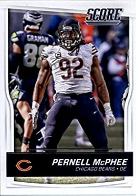 2016 Score #63 Pernell McPhee Chicago Bears Football Card