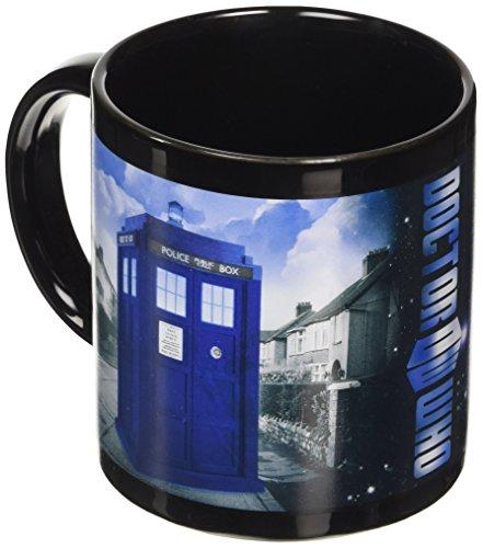 Dr Who - Tazza con Tardis che scompare se la riempi con una bevanda calda