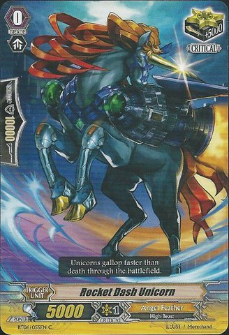 Cardfight!! Vanguard TCG - Rocket Dash Unicorn (BT06/055EN) - Breaker of Limits by Cardfight!! Vanguard TCG