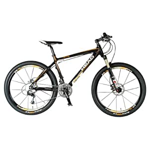 Head Elite Mountain Bike (26-Inch Wheels, 16-Inch Frame, Carbon/White)