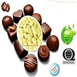 Certified Organic Raw Cocoa Butter Wafers 32 Ounce (Delicious Chocolate Aroma, Flavor & Texture) Unbleached, Non-Deodorized, Ammonia Free