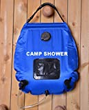 Premium Solar Camping Shower Bag, 5-gallon / Includes Removable Hose W/on-off Switchable Shower Head