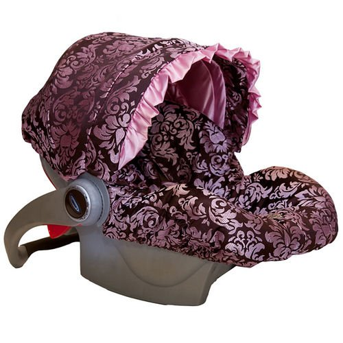 Baby Bella Maya Infant Car Seat Cover in Couture Pink Champage