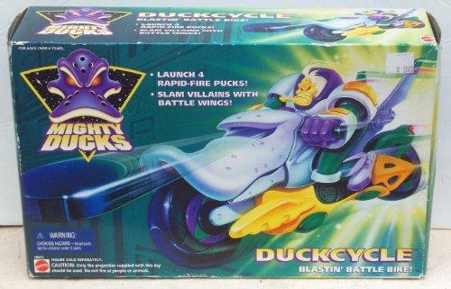 Mattel Mighty Ducks Duckcycle - Battle Blastin' Bike - 1