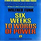 Six Weeks to Words of Power 01 Edition (Soft Cover)