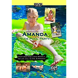 Nude Pool Party featuring Amanda Taylor Cali and Elena - a Nude-Art Film