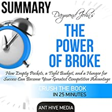 Daymond John's The Power of Broke Summary Audiobook by  Ant Hive Media Narrated by Daniel Hawking