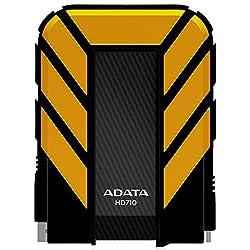 ADATA Dash Drive 2TB HD710 Military-Spec USB 3.0 External Hard Drive, Yellow (AHD710-2TU3-CYL)