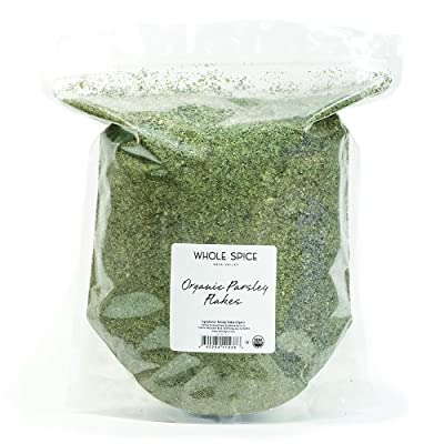 Whole Spice Parsley Flakes Organic, 5 Pound by Wholespice