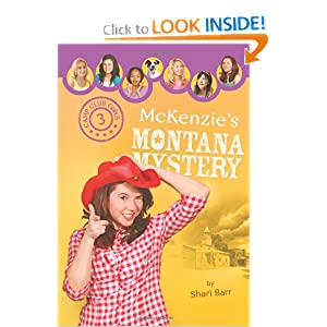 McKenzie's Montana Mystery (Camp Club Girls)