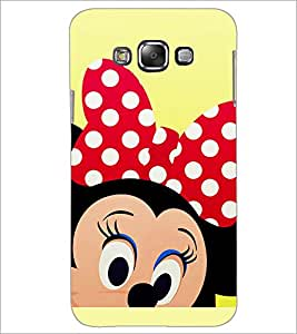 PrintDhaba Minnie Mouse D-2329 Back Case Cover for SAMSUNG GALAXY GRAND 3 (Multi-Coloured)