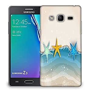 Snoogg abstract summer background Designer Protective Back Case Cover For Samsung Galaxy Tizen T3