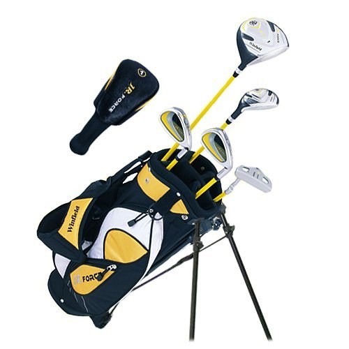 winfield-junior-force-kids-golf-clubs-set-ages-5-8-yellow-right-hand