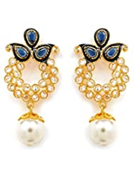 Akshim Multicolour Alloy Earrings For Women - B00NPY94V4