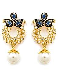 Akshim Multicolour Alloy Earrings For Women - B00NPY94V4