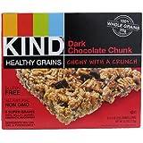 Kind Healthy Grains Granola Bars Dark Chocolate Chunk -- 3 Boxes 6.2 oz