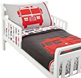 Carters 4 Piece Toddler Bed Set, Fire Truck