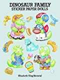 img - for [(Dinosaur Family Sticker Paper Dolls )] [Author: Elizabeth King Brownd] [Mar-2003] book / textbook / text book