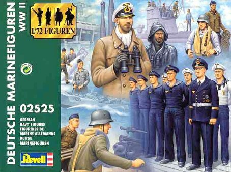 Revell 1:72 German Navy WWII - 1