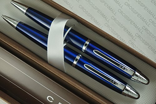 cross-executive-companion-classic-miami-midnight-blue-lacquer-and-extrememly-polished-barrel-pen-and