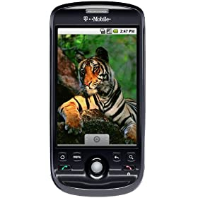 T-Mobile myTouch 1.2 Android Phone, Black (T-Mobile)