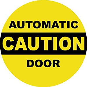 Patio door safety stickers automatic caution door 5 x5 safety sign patio door safety stickers automatic caution door 5 x5 safety sign planetlyrics Image collections