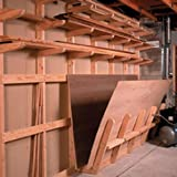 Lumber Storage Rack: Downloadable Woodworking Plan
