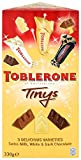 Toblerone Tinys Mix 330 g - 3 Delicious Varieties, Swiss Milk, White and Dark Chocolate (Pack of 3)