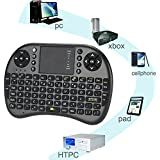 Evana I8 Mini Wireless Keyboard Gaming Keyboard English Air Mouse USB QWERTY Keyboard Touchpad For Android TV...