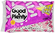 Good & Plenty Licorice Candy, 5 Pound…