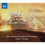 Sibelius: Night Ride and Sunrise; Belshazzar's Feast; Kuolemaby New Zealand Symphony...