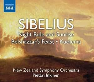 Sibelius: Night Ride & Sunrise; Belshazzar's Feast; Kuolema