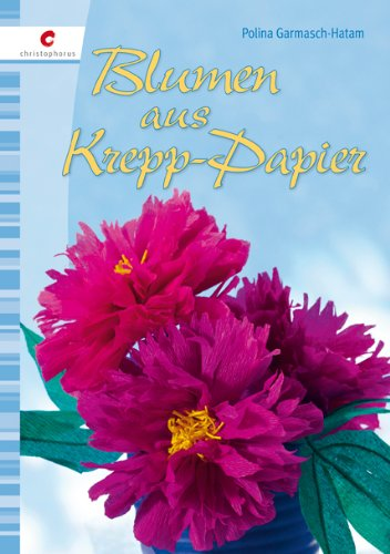 Blumen aus krepp papier for Krepppapier blumen